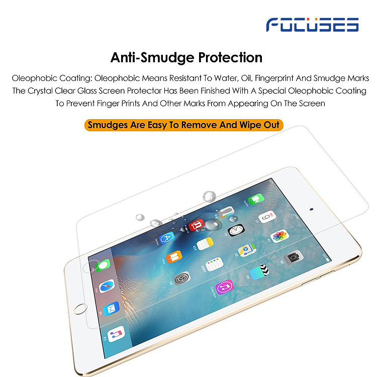 Focuses 9H Premium Tempered Glass Screen Protector for iPad mini 7 9