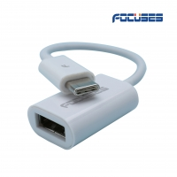 FOCUSES USB Type C Female Adapter 3.1 Male to USB Type A 3.0 OTG Cable