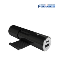 FOCUSES Mini 2600mAh External Battery Pack Compact Size USB Universal Portable Power Bank Charger