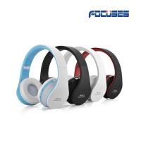 Focuses Wireless Bluetooth Stereo Headphones On Ear Foldable Headset,with Microphone,Lightweight,Comfortable,Powerful Bass