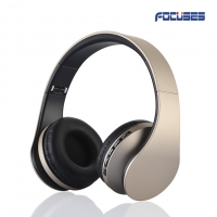 Focuses 4 in 1 Wireless Bluetooth Stereo Headphones On Ear Foldable Headset,with Microphone,Lightweight,Comfortable,Powerful Bass