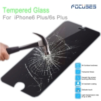 Focuses 9H Clear Tempered Glass Screen Protector for iPhone 6 plus
