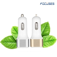 Focuses- DC 5V/2.1A Dual USB Car Charger