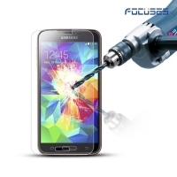 Focuses 9H Clear Tempered Glass Screen Protector for Galaxy S5