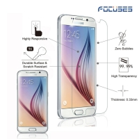 Focuses 9H Clear Tempered Glass Screen Protector for Galaxy S6