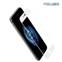 Focuses 9H 2.5D Full Coverage Silk-Printing Tempered Glass Screen Protector for iPhone6s plus