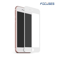 Focuses 9H 2.5D Full Coverage Silk-Printing Tempered Glass Screen Protector for iPhone6 plus