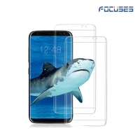 Focuses- Premium Japan Asahi (AGC) 3D Full Coverage Tempered Glass Screen Protector for Galaxy S8