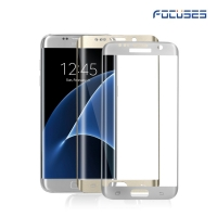 Focuses- Premium 3D Full Coverage Tempered Glass Screen Protector for Galaxy S7 edge
