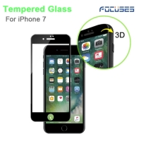 Focuses-3D Curved Full Coverage  Tempered Glass Screen Protector for iPhone 7