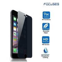 Focuses Premium 9H 2.5D 180 Degree Privacy Anti-Spy Anti-Glare Tempered Glass Screen Protector for iPhone7