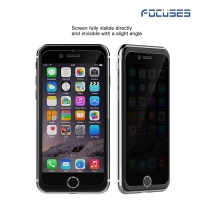 Focuses Premium 9H 2.5D 180 Degree Privacy Anti-Spy Anti-Glare Tempered Glass Screen Protector for iPhone 7plus