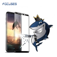 Focuses- Premium Note8 3D Full Covered Tempered Glass Screen Protector